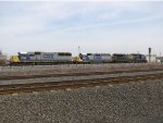 CSX 8552, 6072, and 7808